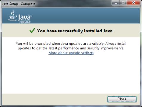 Proses Instal Java